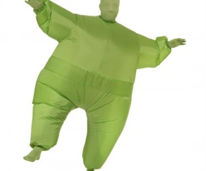 Inflatable Fat Body Suit – Because you're really a fat guy trapped in a skinny guy's body. (comes in all different colors!)
