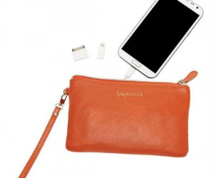 You phone's battery can't always last through a busy day, good thing your purse will charge it!