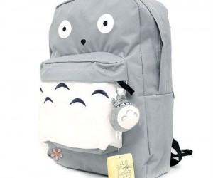 Totoro Backpack – Now you can bring everyone's favorite neighbor with you wherever you go!