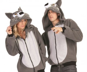 The perfect hoodie to wear on a chilly full moon night!
