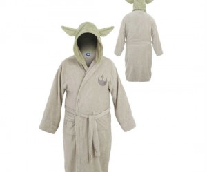 Yoda Bathrobe – Keep you nice and warm after getting out of the shower it will.