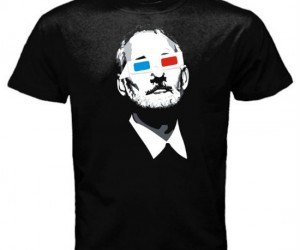 Bill Murray 3D Glasses Shirt – 3 words Bill Fucking Murray!