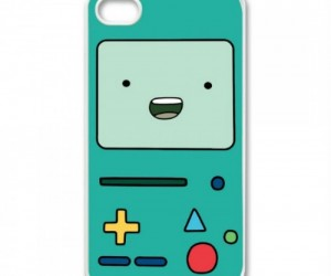 Adventure Time BMO iPhone 4/4s Case – Maybe after getting this case your iPhone will do weird junk when no one is around ..