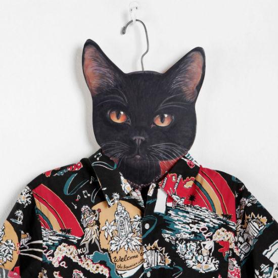 cat clothes hanger