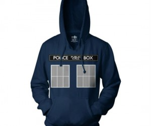 Be your own time lord with this Doctor Who TARDIS hoodie!