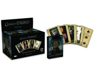 Game of Thrones Playing Cards – You win or you die.