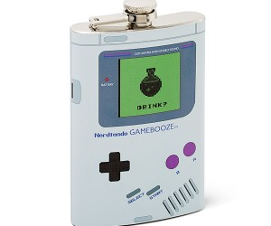 Nintendo Gameboy Flask – I'm sorry but your Princess is in another bar…
