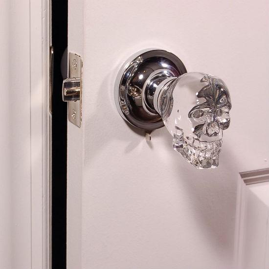 skull doorknob