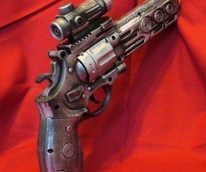 Steampunk Laser Light and Sound Gun – Great tool for any crazy time traveler.