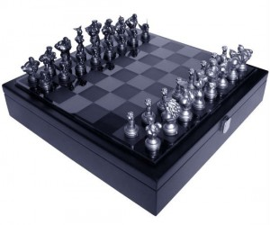 Street Fighter Chess – Are you man enough to play chess with me?