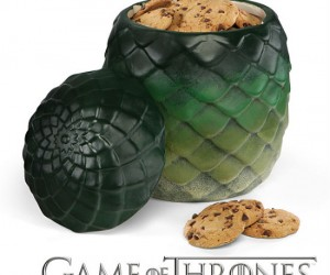 Game Of Thrones Dragon Egg Canister – Holds your cookies or any dragon eggs you may have lying around.