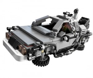 Back To The Future DeLorean Lego Set – Wait a minute, Doc. Ah… Are you telling me that you built a time machine… out of a Lego DeLorean?