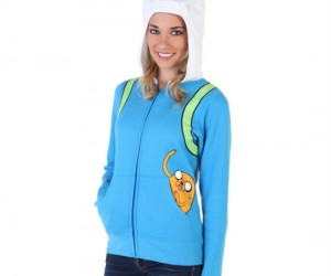 Women's Adventure Time Finn The Human Hoodie – Adventure's aren't just for boys!