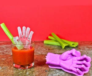 Zombie Hand Ice Mold – The perfect way to chill a Bloody Mary!
