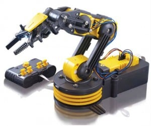 What use do you have for a remote control robotic arm? I'm sure you could think of something.