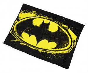 Batman Fleece Logo Throw Blanket – Snuggle up next to the Dark Knight himself!