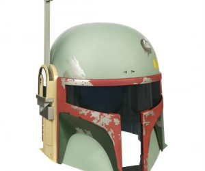 "Star Wars Electronic Boba Fett Helmet – ""You can run. But you'll only die tired."""