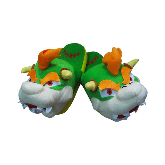 Bowser Slippers