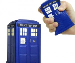 Doctor Who TARDIS Stress Ball – Great way to take out all of your Whovian frustrations.