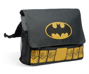 Batman Diaper Bag – Da da da da da da da da Diaper! The perfect gift for the BatDad in your life.