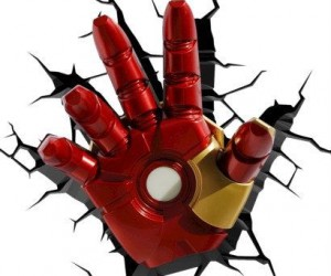 3D Iron Man Glove Light – Don't worry he's here to light your way not fight you.