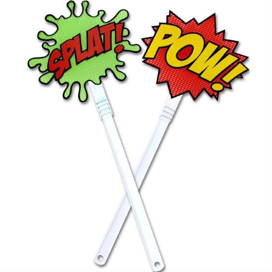 Comic Book Fly Swatters
