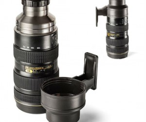 Camera Lens Stainless Steel Thermos – I like to call it a thermal lens.