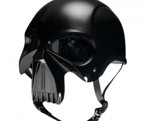 Darth Knight Skull Motorcycle Helmet – People are bound to get out of your way when they see this coming…