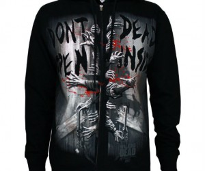 The Walking Dead Don't Open Dead Inside Hoodie – It's clearly warning you not to unzip this hoodie!