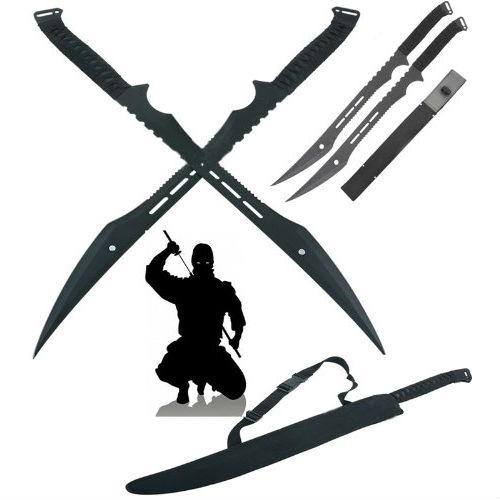 double ninja swords with sheath