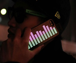 Now your iPhone can display the beat to your favorite song or even your phone conversation!
