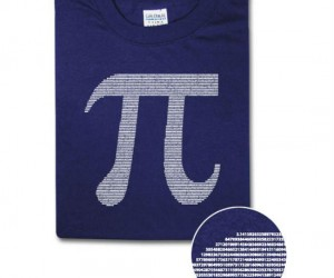 Pi Tee – Sometimes it's okay to be irrational!