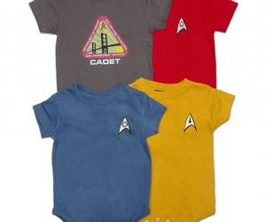 Star Trek Onesies – Baby Shatner was born to trek!