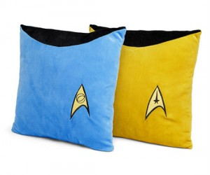 Star Trek TOS Throw Pillows – It would be illogical not to buy them.