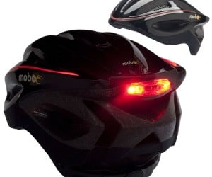 LEDs on your helmet add style and safety!