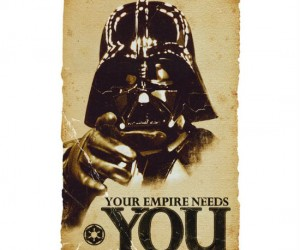 Star Wars Propaganda Poster – Are you ready to join the Dark Side and fight for your Empire?