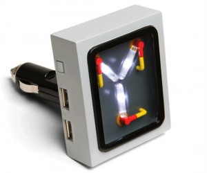 Flux Capacitor Car Charger – Great Scott! What a time to be alive!