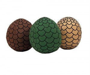 Game of Thrones Dragon Egg Plushies – Like real dragon eggs only softer and more cuddly.