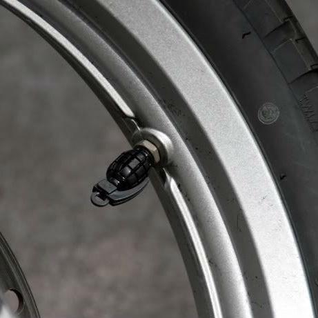 grenade tire valve caps