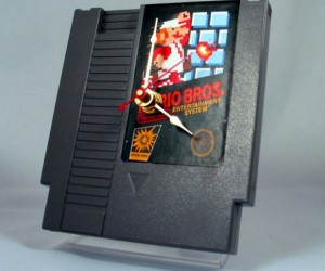 NES Game Cartridge Clock – Grab this before your time runs out and you lose another life!