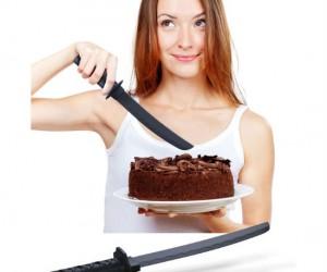 Little known fact: Ninjas love cake, it's their favorite dessert!
