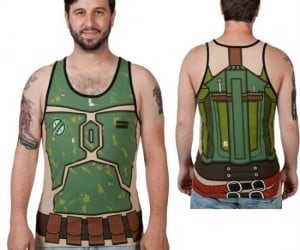Star Wars Boba Fett Tank Top – Sometimes while bounty hunting throughout the galaxy you get a little too close to the sun and need to dress down.