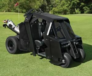Batman Batmobile Golf Cart – Be the hero the golf course deserves…