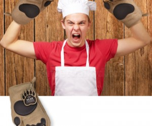 Bear Hand Oven Mitts – Sometimes it's perfectly fine to grab food out of the oven with your 'bear' hands.