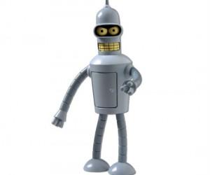 Futurama Talking Bender Action Figure – Buy my shiny metal ass!