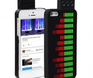 Equalizer Case for iPhone 5 – Looks just like a graphic equalizer!