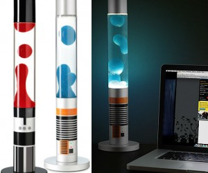 Star Wars Lightsaber Lava Lamps – Let the hate wax flow through you.