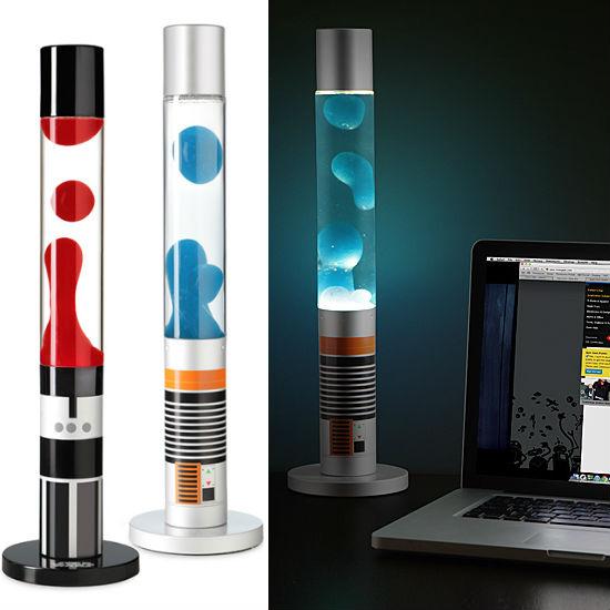 lightsaber lava lamp