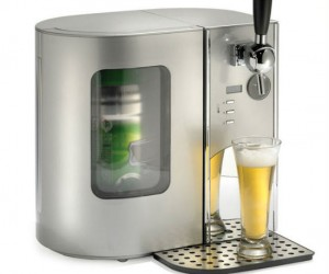 Mini Keg Dispenser – The perfect addition to any man cave or home bar!