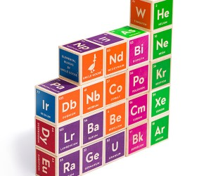 Periodic Table Building Blocks – Walter White approved.
